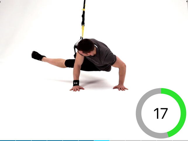 ‎Virtual Trainer Suspension Screenshot