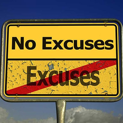 5 Ausreden um sich zum Training zu motivieren!